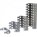 Back mount frame for 10 pair LSA module JA-1310