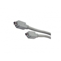 IEEE1394 (Fire Wire) 4 Pin to 4 Pin 1394 Cable L 6 ft