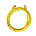 UTP Patchcord สีเหลือง ยาว 2 เมตร